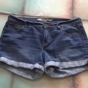 *5 for 25* Old Navy Boyfriend Denim Shorts